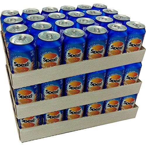 Spezi Cola & Orange 72 x 0,33l Dose XXL Paket (Cola- Orange- Mischgetränk)