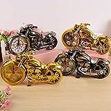 Hrph Motorrad Wecker Form kreativ Retro Geschenke gehobene Ausstattung Boutique Hausdekoration