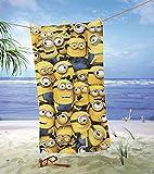 Minions Strandtuch Ich - Einfach unverbesserlich Duschtuch Badetuch 75x150cm lizenziert