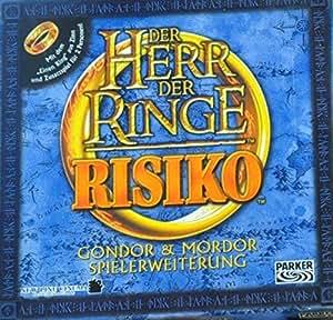 Hasbro - Herr der Ringe. Risiko. Gondor & Mordor Spielerweiterung
