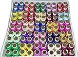 #2: DECCAN 100 Thread Spools (25 Shades, each 4 in no.) ASSORTED SET A