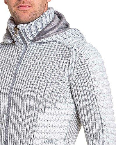 BLZ jeans - Gilet homme hiver écru Beige