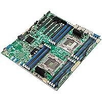 Intel S2600CW2 Intel C612 LGA 2011-v3 SSI EEB placa base para - Servidor (SSI EEB, Servidor, Rack or Pedestal, Intel, LGA 2011-v3, 4, 6, 8, 10, 12, 14, 16, 18, 57, 61)
