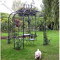 Amazon.fr : gloriette fer forgé : Jardin