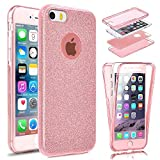 Coque Compatible avec Gel iPhone Se / 5S / 5, Housse Bling Gel Silicone Protection...