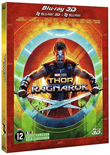 THOR RAGNAROK  3D + 2D [Blu-ray] [Combo Blu-ray 3D + Blu-ray 2D]
