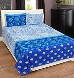 Home Elite 120 TC Cotton Double Bedsheet...