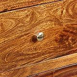 Schrank Beistelltisch aus Sheesham Massivholz 60x 35x 76cm