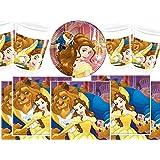 Disney BPWFA-4730 Beauty and the Beast Tableware