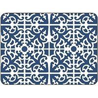 Jason Parterre Blue Coasters - Set of 6