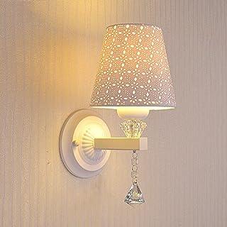 Modernen Minimalistischen Einzelkopf/doppelkopf LED Wandleuchte Amerikanischen Wohnzimmer Schlafzimmer Nacht Glas Wandleuchte Mode Treppen Flur Lampe (Design : A-1)