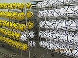 10 x balón de tamaño 3 blanco de piel sintética