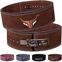 Mytra Fusion Power Weight Lifting Belt L4 Weight Training Leather Belt Power Belts for Squats Workout
