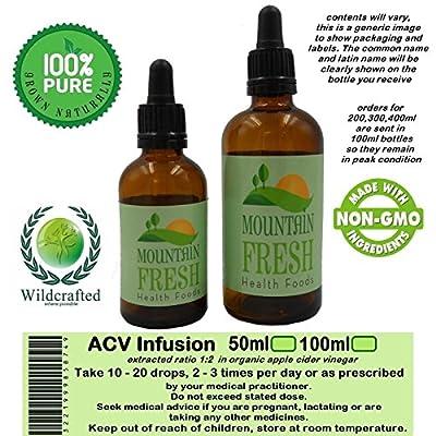 Feverfew Tanacetum Parthenium Organic (ACV) Vinegar Tincture 1:2