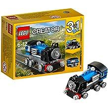 LEGO Creator - Expreso, juego de construcción, color azul (31054)