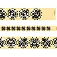 Aire Comprimido tiro 10Tiras de alta calidad Parabrisas cartón numeradas Entrenamiento Competición–100Unidades