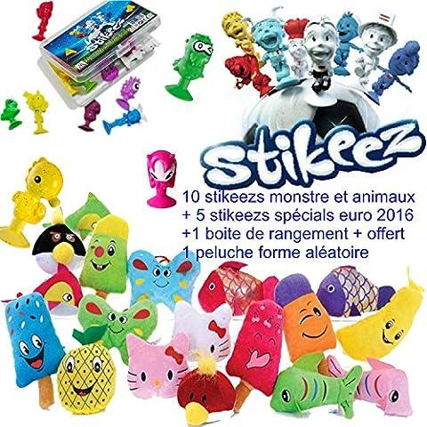10 STIKEEZS MONSTRE ET ANIMAUX + 5 DE L