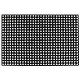 Festnight- Zerbino in Gomma, Tappeto Entrata Interno 16 mm 80x120 cm