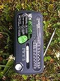 Muse MH-07DS tragbares Kurbel-Radio, Weltempfänger mit Taschenlampe und Solar-Ladefunktion (Dynamo, Handy-Lader, Solar, USB, Mini-USB) - 5