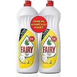 Fairy Sıvı Bulaşık Deterjanı, Limonlu, Fırsat Paketi, 2000 ml (2x1000 ml)