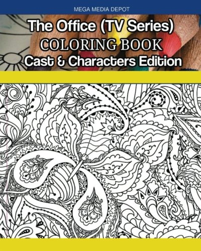 The Office (TV Series) Coloring Book Cast & Characters Edition