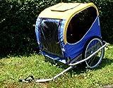 BLUE BIRD Hundeanhänger Fahrradanhänger ALU-Wanne Standard-Kupplung