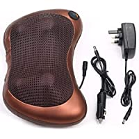 Naivete Cushion Massager Insta Relief - with seat Strap and Both Home and car sockets …