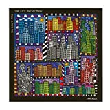 Goebel - Magnettafel - Pop Art - You Can Not Take The City Out of Rizzi - Bunt - Metall - 45 x 45 cm
