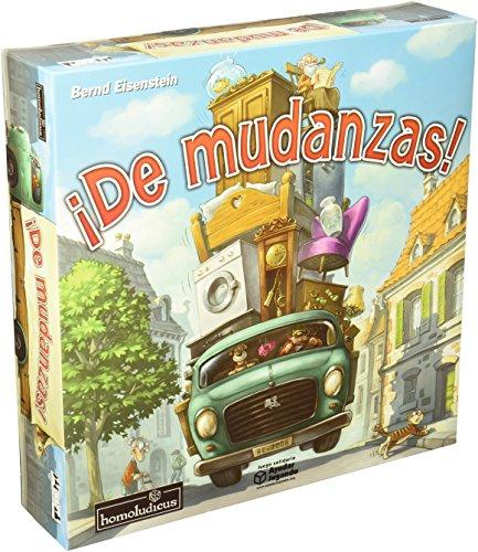 Homoludicus - ¡De Mudanzas!, juego de mesa (925128)