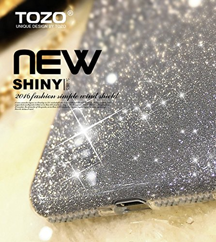 iPhone 7 Plus iPhone 8 Plus Case, TOZO® SHINY Series [Bling Crystal] Ultra Thin Sparkle Premium 3 Layer Hybrid Semi-transparent Lightweight / Exact Fit / Soft Case for iPhone 7 Plus iPhone 8 Plus 5.5  Shiny Blue