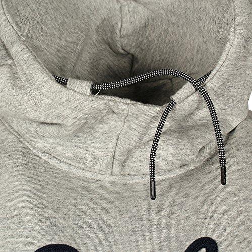 Scotch & Soda Herren Sweatshirt Text Artwork Hoodie Grey Melange