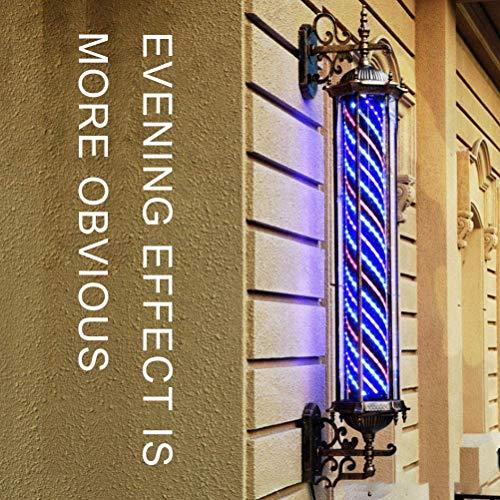 Retro Poste De Barbero con Forma De Flecha Luminoso Y con Rotación...