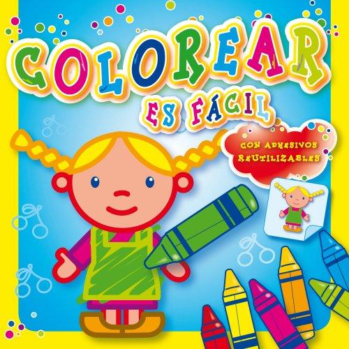 Colorear es fácil (amarillo) (Colorear Es Facil)