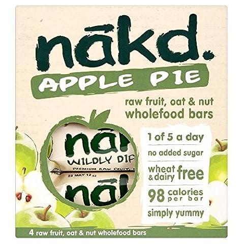 Nakd Tarte Aux Pommes Fruits Crus , Avoine Et L'Écrou D'Aliments Complets
