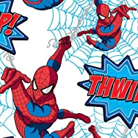 "Graham & Brown Kids@homeIII Collection Children's Wallpaper with""Spider-Man Thwip!"" Design preiswert"