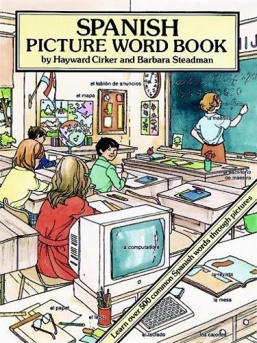 Spanish Picture Word Book (Dover Children's Language Activity Books)
