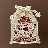 10 handgemachte Samenbomben als Bestäubungshilfe für Bienen!