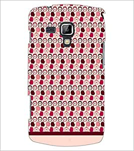 PrintDhaba Pattern D-1876 Back Case Cover for SAMSUNG GALAXY S DUOS S7562 (Multi-Coloured)