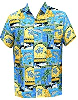 Hawaii Vintage Surfing Button Up Hawaiian Shirts For Men 1688 Matching 5 Xl Gift Spring Summer 2017