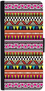 Snoogg Aztec Multicolour Designer Protective Phone Flip Case Cover For Huawei Honor 5X