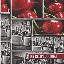 My Recipe Journal: Blank Recipe Book: The Perfect Gift for Foodies, Cooks, Chefs * 100 Page Custom Cookbook * Vintage * Retro * 8.5 x 8.5 * Softback * Large Notebook