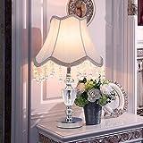 U-Enjoy Kronleuchter Schreibtisch Tischleuchten K9 Birne Moderne Dekoration-Lampe Kristall E27 Bedside-Dekor-Lampen Schlafzimmer Haus Kostenloser Versand