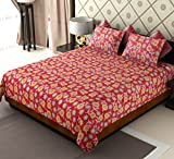 Amethyst Polycotton Double Bedsheet with...