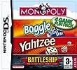 Hasbro Compilation: Monopoly/Boggle/Yahtzee/Battleships (Nintendo DS)