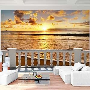 Fototapete Strand Meer Vlies Wand Tapete Wohnzimmer Schlafzimmer ...