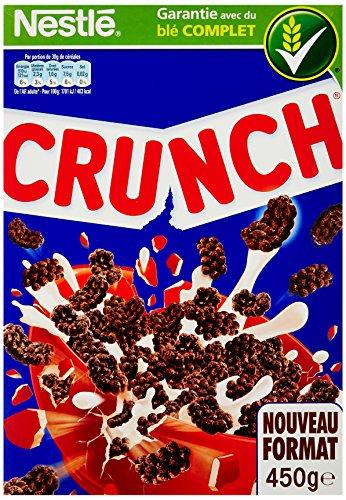 Nestlé Céréales Crunch 450 g - Lot de 6