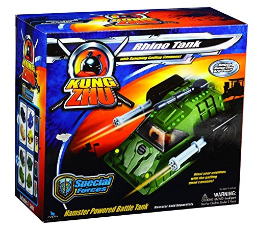 Giochi Preziosi 70883311 Kung Zhu 'Rhino' Armée pour véhicule