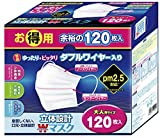 Japan Facemask - 120 sheets Tokyo planning selling three-dimensional design W wire mask adult *AF27*