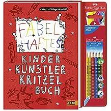 Fabelhaftes Kinder Künstler Kritzelbuch: Mit sechs Colour-Grip Stiften