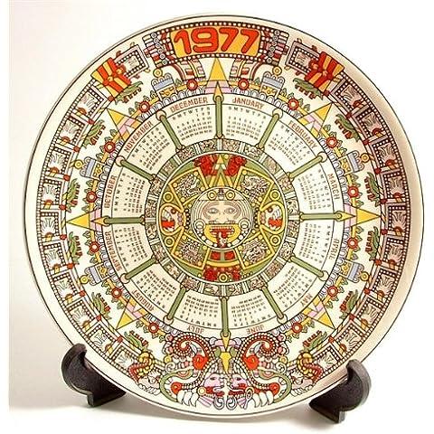 Wedgwood calendario, 1977 Tonatiuh settimo CP203 Series Aztec calendar pietra o sole